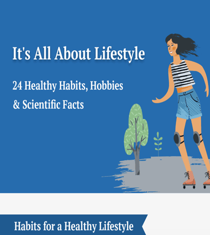 It's All About Lifestyle—24 Healthy Habits, Hobbies & Scientific Facts